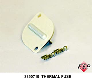 Dryer Thermal Fuse for Whirlpool, Sears, Kenmore, AP3133489, PS344958, 3390719 Model: 3390719