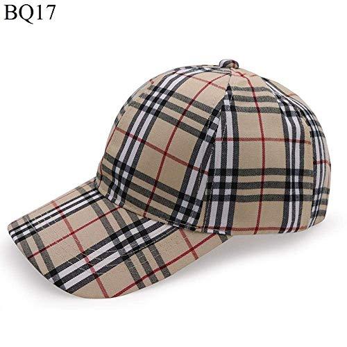 Sombrero de Gorra - Gorra de béisbol a Cuadros de Moda - Sombra de Oc