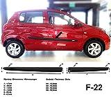 Spangenberg Barres de protection latérales noires pour Suzuki Celerio à partir de 03.2014- F22 (370002207)