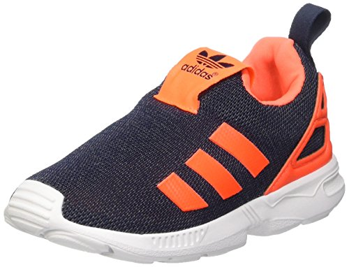 adidas Unisex-Kinder ZX Flux EL I Sneaker, Multicolore Legink Sorang Ftwwht, 22 EU