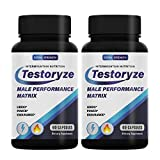 (2-Pack) Testoryze, Testoryze Pill, Advanced Performance Formula, Support Muscle and Strength, The Official Brand Dietary Supplement