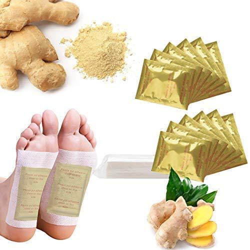 Fascigirl Detox Pflaster, 80 Pcs Detox Pflaster Fuß Detox Pads Foot Pads Detox Foot Patch für Gelenkschmerzen Schlaf Fußpflaster Detox & Cleanse Supplements