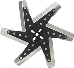 Derale 19115: Fan, Flex-Type, High Performance, Clockwise, 15 in. Diameter, Stainless Steel Blades/Steel Hub, Universal,Each
