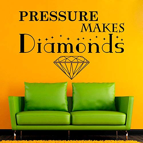 JXWH Het motief van het kantoor, de muursticker, de druk maakt de stickers van vinyl met diamantmotief, de woonkamer van het kantoor en de binnendecoratie