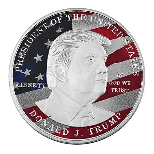 S-TROUBLE Donald J. Trump - Insignia conmemorativa del presidente de l