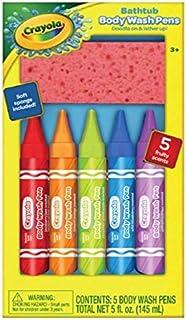 Crayola Bathtub Body Wash Pen and Sponge Fun Bath Set