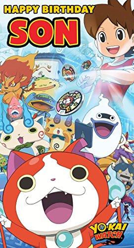 Yo-Kai Watch Geburtstagskarte für den Sohn