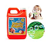 Tuko Bubble Solution Refill (up to 2.5Gallon) Big Bubble Solution 32 Ounce Concentrated Solution for Bubble Machine, Easter