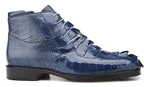 Belvedere Barone Genuine Hornback and Genuine Ostrich Boot 13