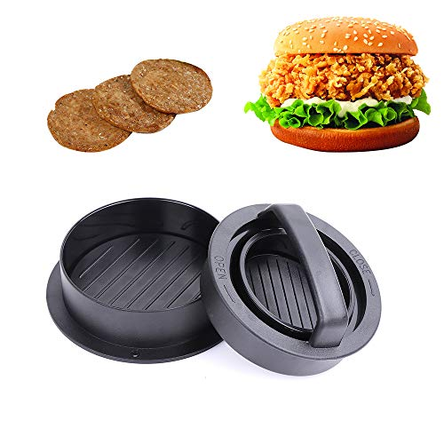 KMEIVOL Burger Press, 3-in-1Hamburger Patty Maker, Works Best for Burger Making Kit, Hamburger Patty...