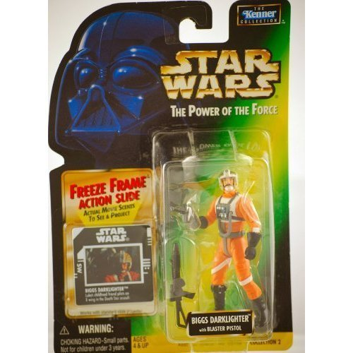 Star Wars: Power of the Force Freeze Frame Biggs Darklighter Action Figure