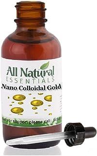 Sponsored Ad - Colloidal Liquid Gold Mineral Supplement True Pure Nano Colloidal Liquid Gold Minerals 2oz Bottle 240ppm Ko...
