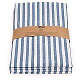FILU Servietten 8er Pack Blau/Weiß gestreift (Farbe und Design wählbar) 45 x 45 cm – Stoffserviette aus 100% Baumwolle im skandinavischen Landhausstil - 5