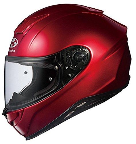 オージーケーカブト(OGK KABUTO)バイクヘルメット フルフェイス AEROBLADE5 シャイニーレッド 569914 M (頭囲 57cm~58cm)