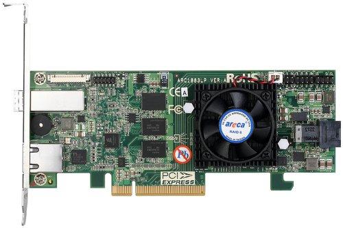 Price comparison product image Areca arc-1883lp RAID Controller Raid Controller (SAS,  Serial ATA III,  PCI Express x8,  0,  1,  3,  5,  6,  10,  30,  50,  60,  1E,  JBOD,  2048 MB,  DDR3
