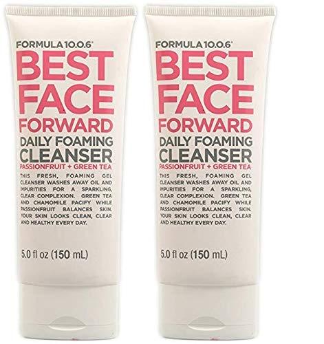 Formula Ten O Six - Best Face Forward Daily Foaming Cleanser - 5.0 Fluid Ounce - 2 Pack