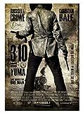 ZYHSB The 3:10 To Yuma (2007) Película Lienzo Póster Pintura Decoración del Hogar Yk726Zc 40X60Cm...