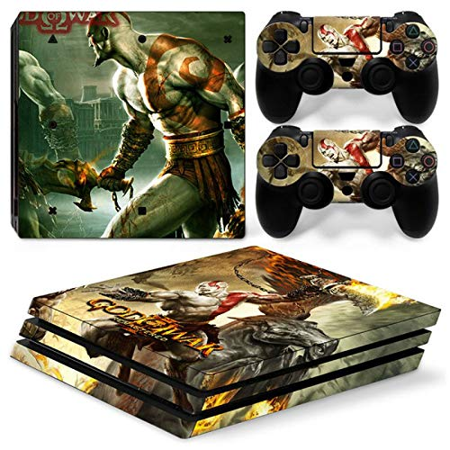 FENGLING Removable Vinyl Decal Cover For Ps4 Pro Console And Controllers Protective Skin Stickers For Playstation 4 Pro