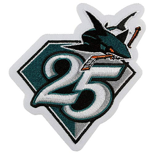 2015 San Jose Sharks Team 25th Anniversary Season Logo Jersey Patch