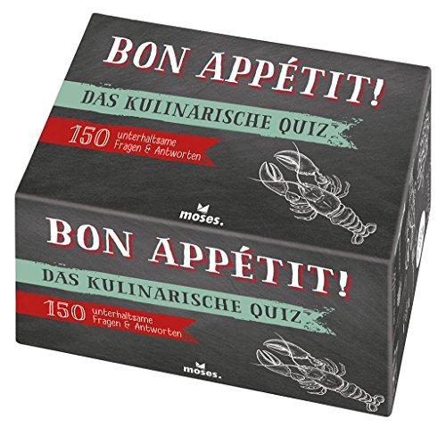 Bon appétit!: Das kulinarische Quiz (Quiz-Boxen)