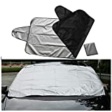 Generise Windscreen Cover Car Window Screen Frost Ice Large Snow Dust Protector Magnetic
