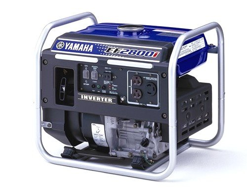 Yamaha EF2800i, 2500 Running Watts/2800 Starting Watts, Gas Powered Portable Generator