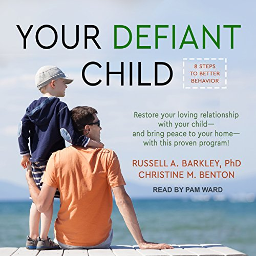 Your Defiant Child audiobook cover art