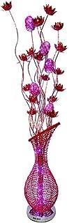 LHFHA Lampadaire Upright Lights Lampe de Table, Lampadaire de Vase À Fleurs À Led En Alumi- Veilleuse Pour Toute Maison Pu...
