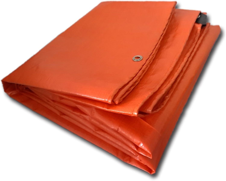 MDBLYJWinddichtes und und und kaltes Tuch Sonnenschutztuc Plane, regendichte Sonnenschutzplane, LKW Plane Holzschutz Hochtemperatur Anti-Aging, Orange B07M9CXDBH  Zuverlässige Leistung b2e22c