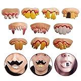Best Fake Teeths - Odowalker 10 Pcs Fake Teeth Toy Funny Fake Review