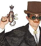 Victorian steampunk disfraz estilo gotiico pistola