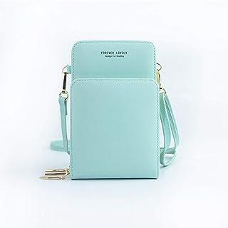 Ladies Bag Fashion New Diagonal Solid Color Multifunctional Mobile Phone Bag Ladies Shoulder Wallet