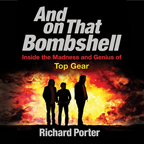 And on That Bombshell audiobook cover art