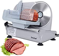 SUPER DEAL Premium Stainless Steel Electric Meat Slicer 7.5