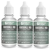 Essential Values 3-Pack Foosball Rod Lubricant - Authentic Foosball...