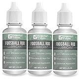 Essential Values - Lubricante para Barra de futbolín (3 Unidades, 100% lubricante de Silicona)
