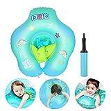 Etmury Baby Schwimmring ,Baby Schwimmen Ring Schwimmhilfe ,Kinder Schwimmring Schwimmbad Aufblasbarer mit Pumpe für Baby von 3 bis 36 Monaten