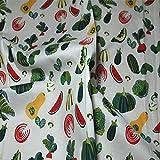 Hongma Baumwolle Stoff Obst Gemüse Muster Stoffdruck