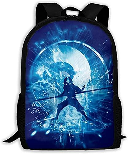 La mochila de viaje de campus ,Bolso de negocios único hombre y mujer Bolsos ajustables resistentes al agua el trabajo Senderismo Picnic The Storm Avatar The Last Airbender Poster Mochilas escolares
