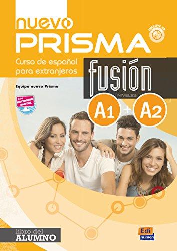 Nuevo prisma. Fusion A1/A2. Libro del alumno. Per le Scuole superiori. Con espansione online: Curso de Espanol para Extranjeros