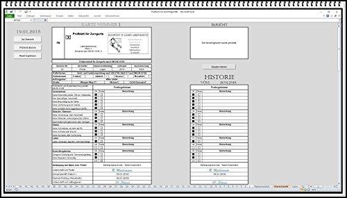 Prüfbuch für Anschlagmittel Dokumentation der Prüfung Nach DGUV 100-500 Zurrgurte, Rundschlinge, Zurrketten, Hebebänder, Spanngurte prüfen.