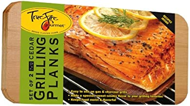 TrueFire Gourmet TFplanks12-2 2-Pack Cedar Grilling Plank, 7 by 12-Inch