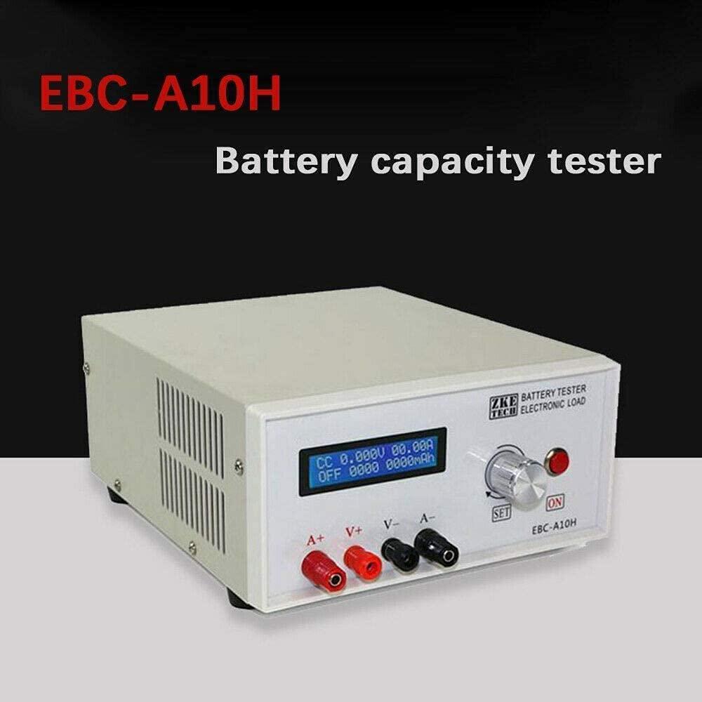 YIYIBYUS Battery Capacity Tester, Battery Capacity Charge and Discharge Tester,Li/Pb Battery Capacity Tester Power Performance Testing EBC-A10H