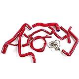 Silicone Radiator Coolant Hose Tube Kit Clamps For VW Volkswagen Golf MK3 VR6 2.8 2.9 1994 1995 1996 1997 1998 Red