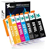 EBBO Compatible Ink Cartridge Replacement for HP 564XL 564 XL, Work for HP Officejet 4620 Deskjet 3520 3522 Photosmart 5520 6510 6520 7520 7525 (2 Black 1 Cyan 1 Magenta 1 Yellow 1 Photo Black,6-Pack)