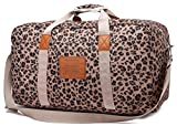Malirona Canvas Weekender Bag Travel Duffel Bag for Weekend Overnight Trip (FB244)