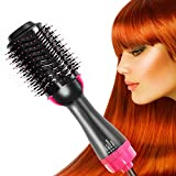 Hair Dryer Brush, Hair Dryer and Styler Volumizer Hair Straightener 4 in 1 Large Hot Air Hair Brush for All Hairstyle