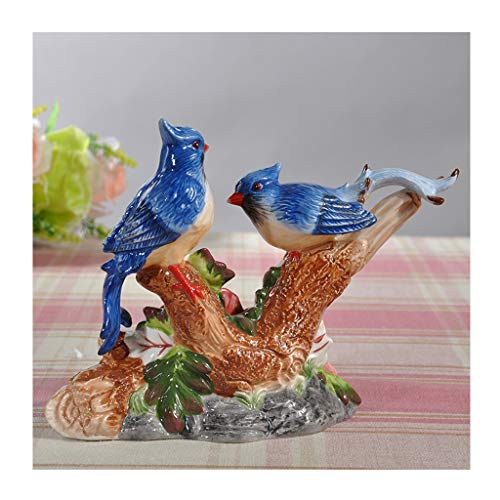 Feng Shui Gem Stone Money Tree /Crystal Money Tr Bird Animal Garden Statues Figurine, Sculpture Ornaments , Indoor Outdoor Statues Yard Art Figurines for Patio Lawn House Feng Shui Wealth Ornament Tre