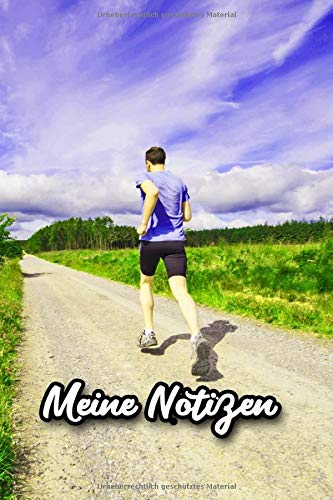 Meine Notizen: Fitness und Fun für Jogger. Leistungssteigerung durch regelmäßige Aufzeichnungen deiner Strecken, Zeiten, Trainingsintervalle, ... Leistungssteigerung auf 120 karierten Seiten