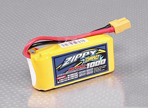 HOBBY KING Zippy Compact 1000mAh 3S 25C Lipo Pack